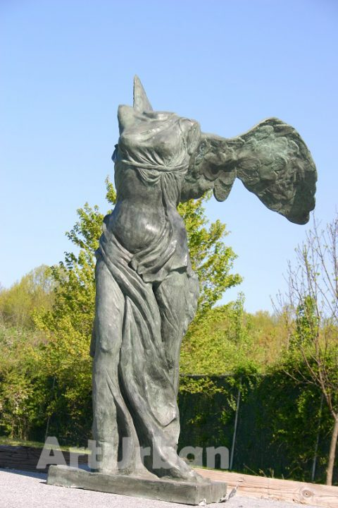 Nike art winged victory of samothrace