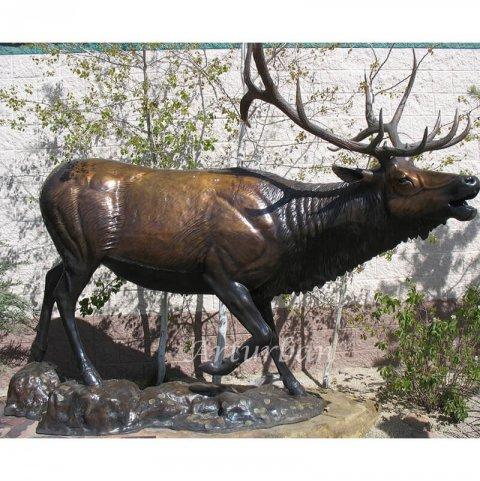 life size elk statues
