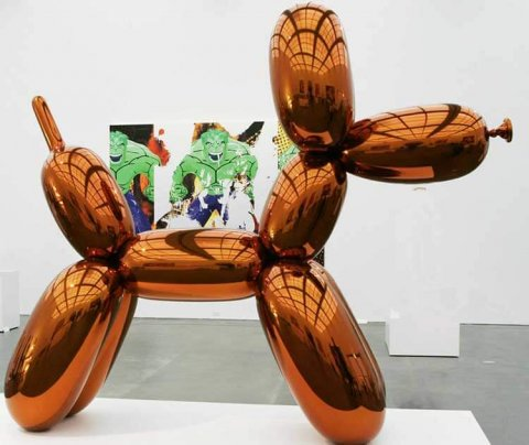 jeff koons balloon dog for sale