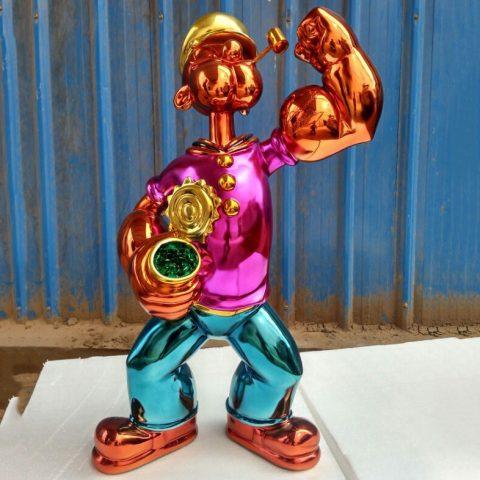popeye sculpture