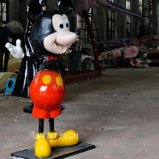 disney mickey statue