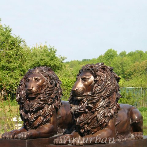 lion statue for house