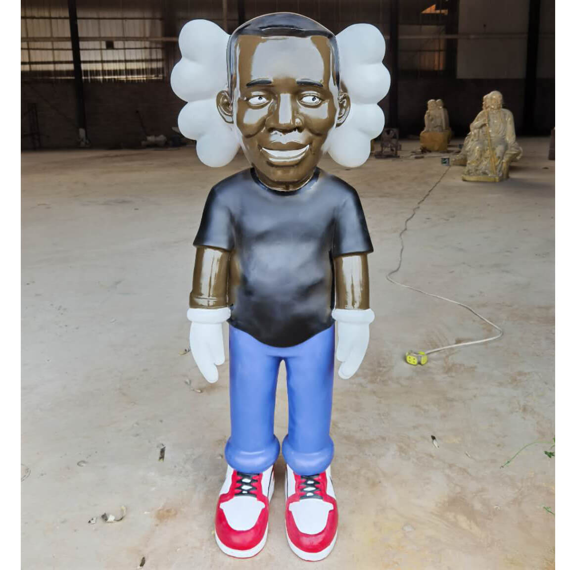 Life Size Kaws Statue For Sale Home Decoration