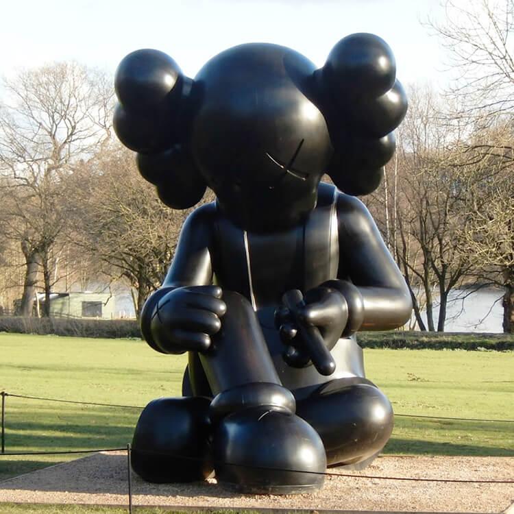 large kaws statue