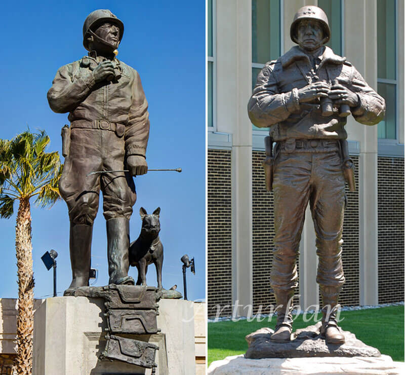 life size military statues for sale