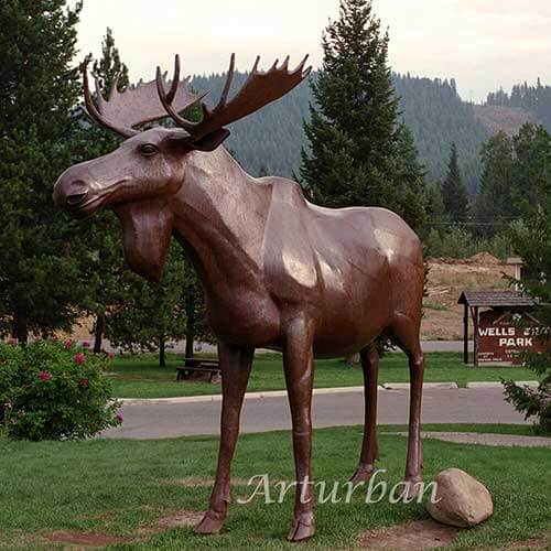 Moose Statue for Sale
