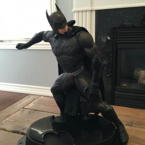 custom batman statue