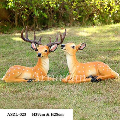 deer garden statuee