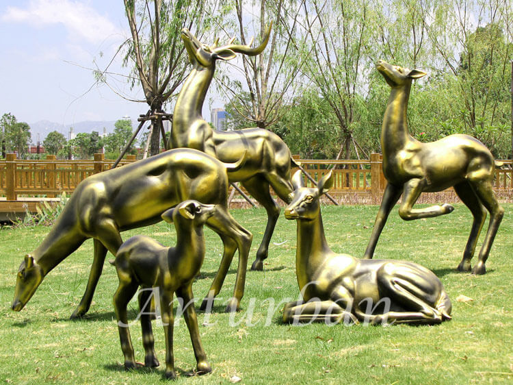 deer statue for garden