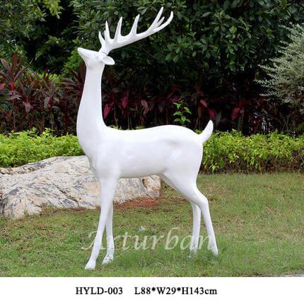 yard deer statuese