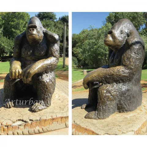 gorilla statue for sale