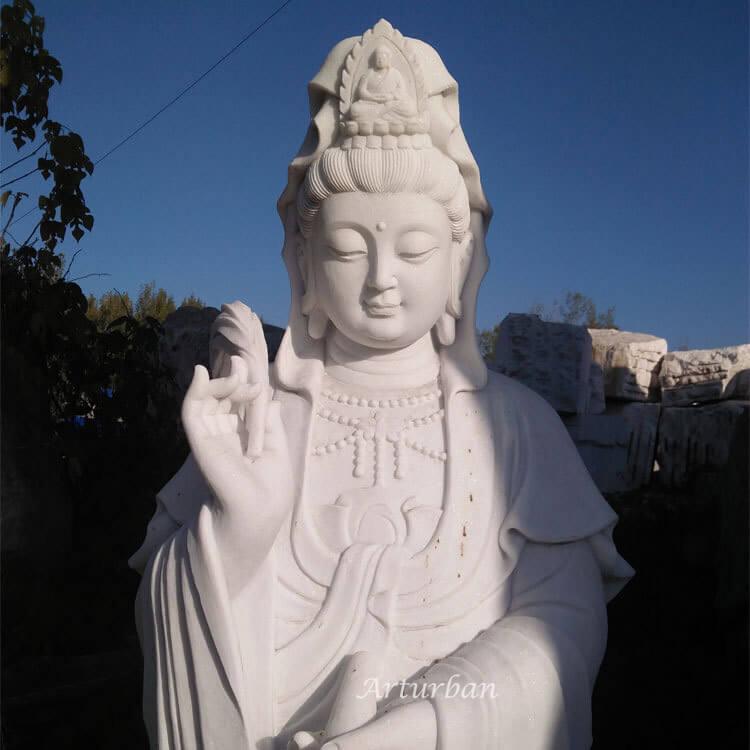 kwan yin garden statue