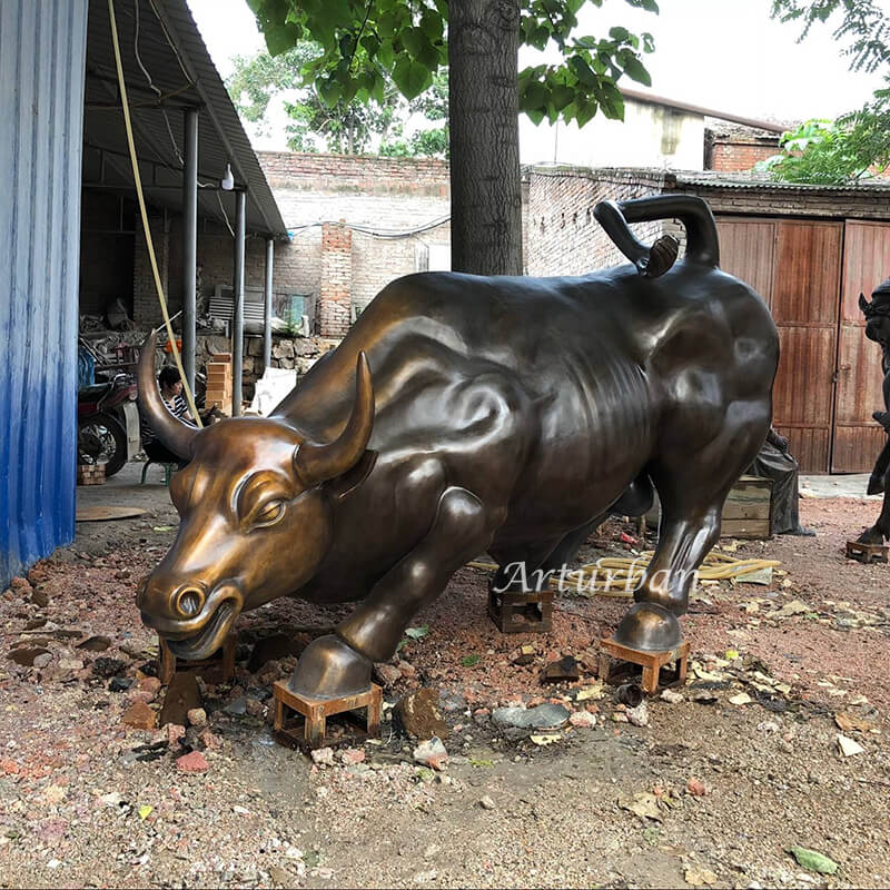 wall street bull statue for sale