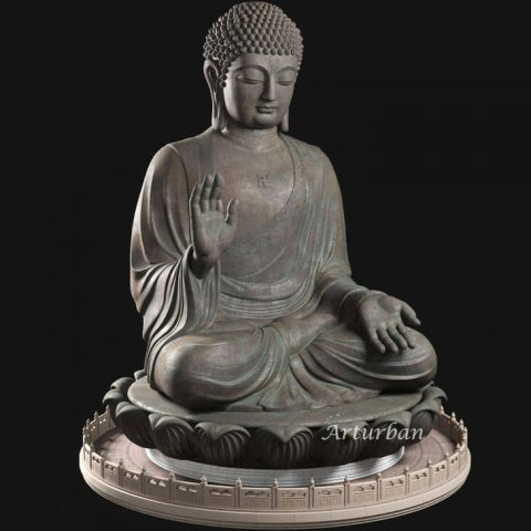 antique buddha statue