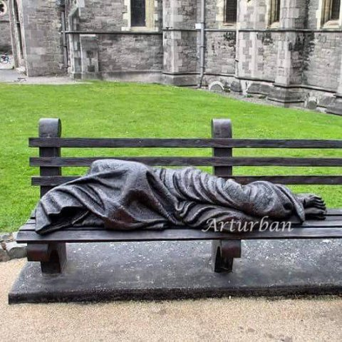 homeless jesus statue for sale