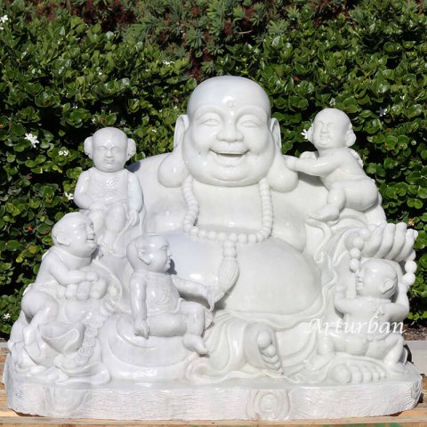 large happy buddha statue
