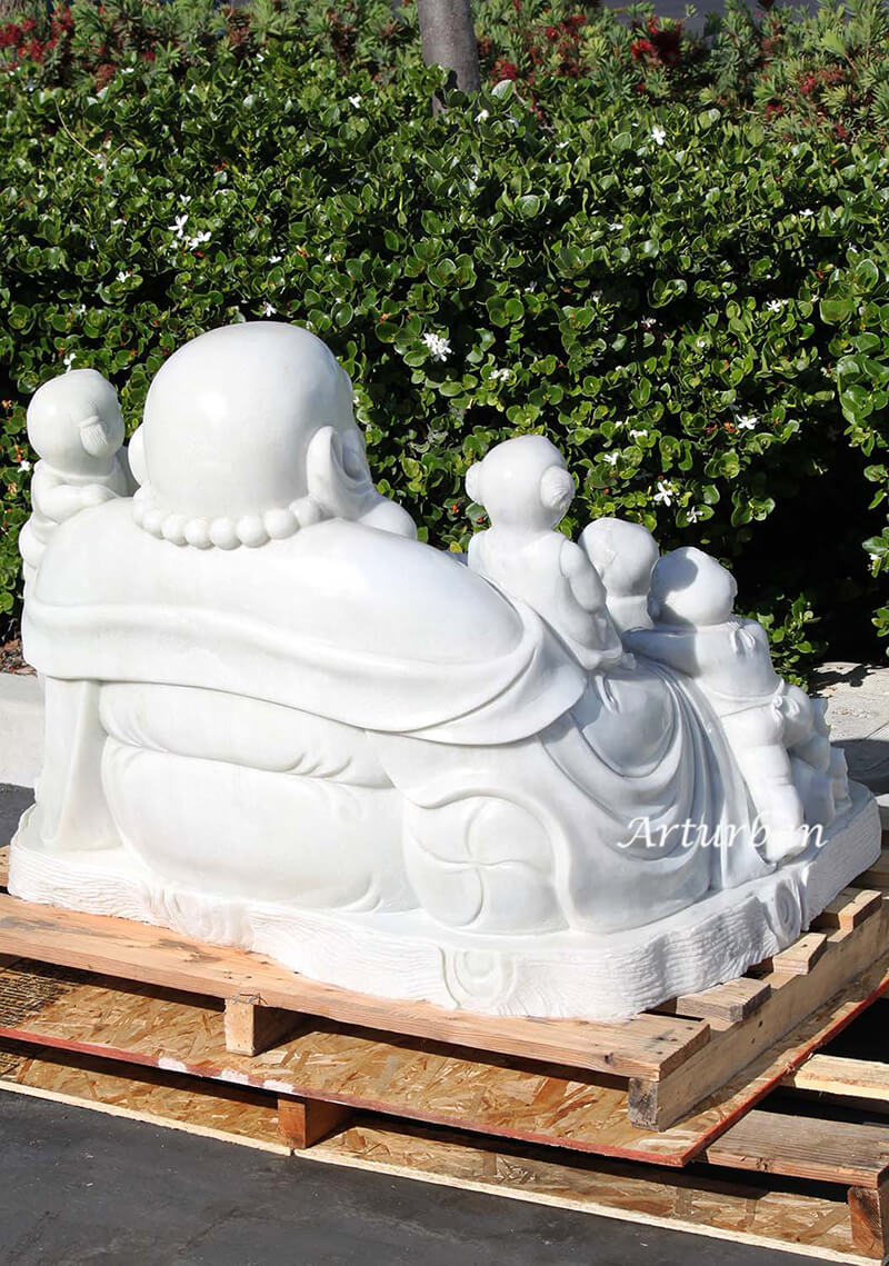 large happy buddha statue