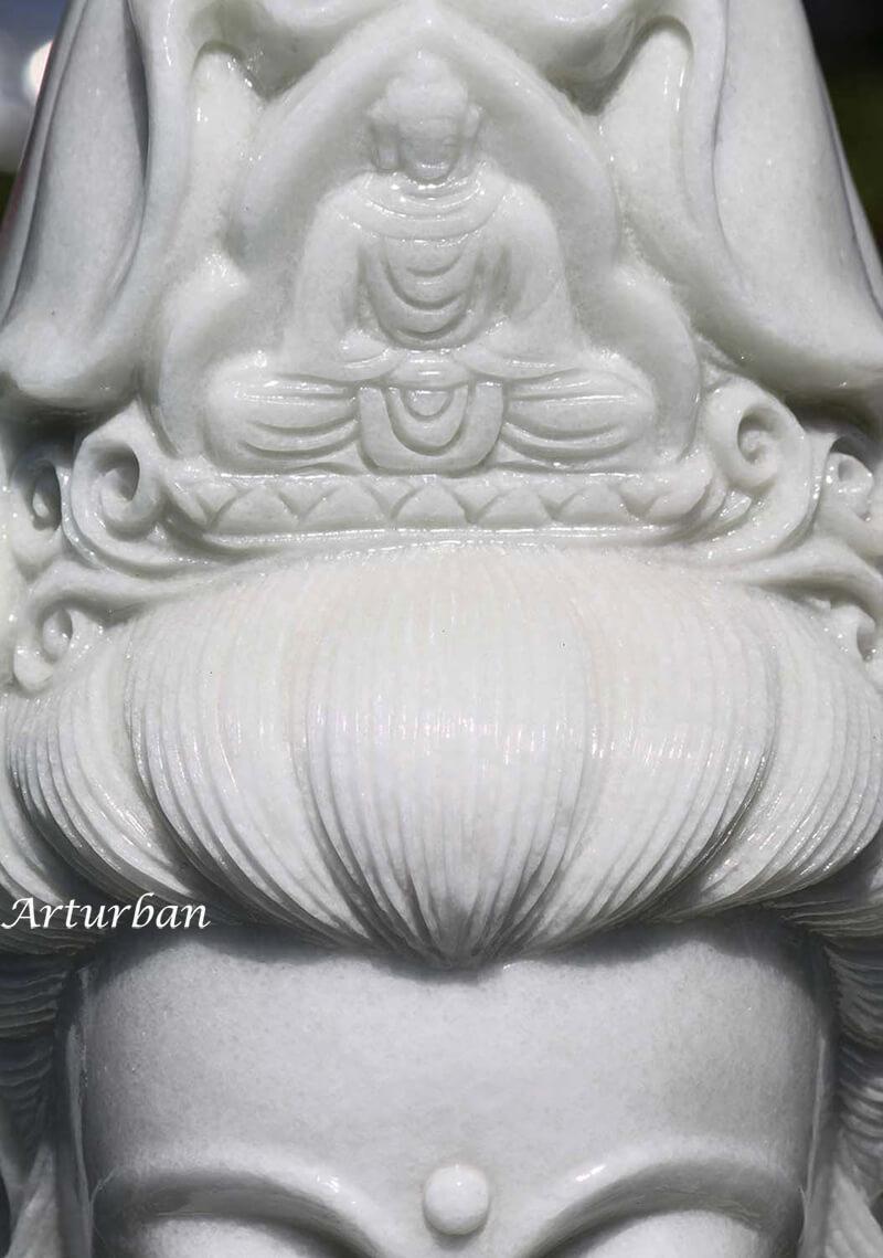 kuan yin garden statue