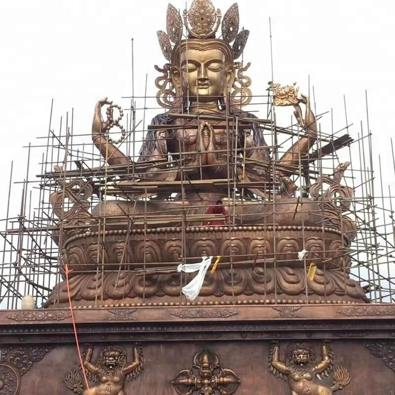 tibetan buddha statue