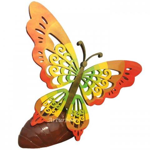 butterfly garden statue