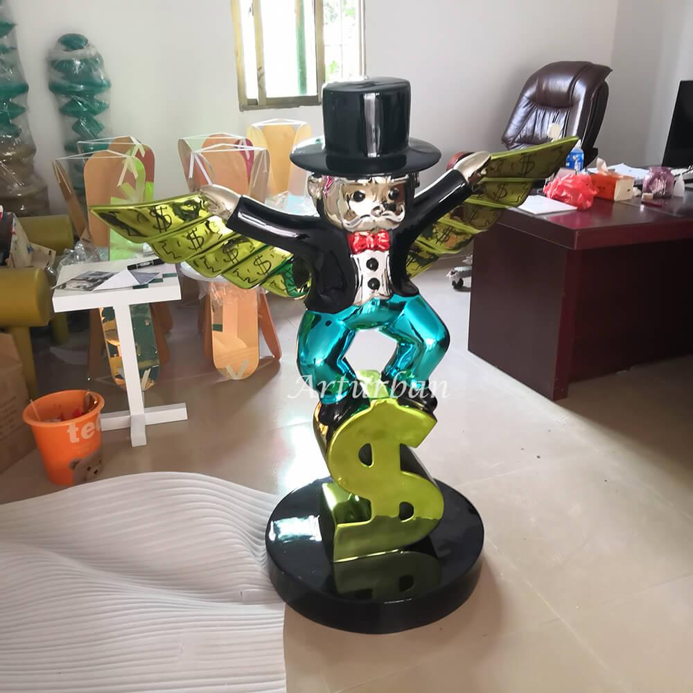 alec monopoly sculpture for sale
