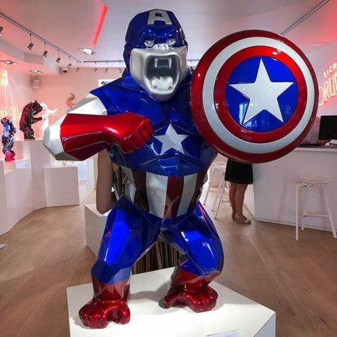 Captain America Wild Kong