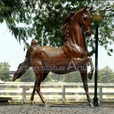 arabian horse statue
