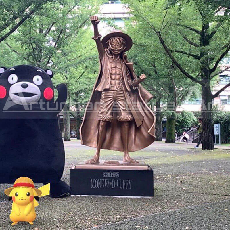 luffy statue