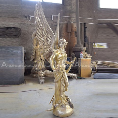 guardian angel sculpture