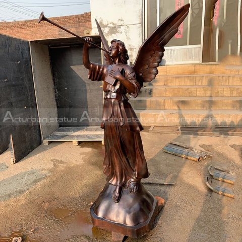 angel wings statue