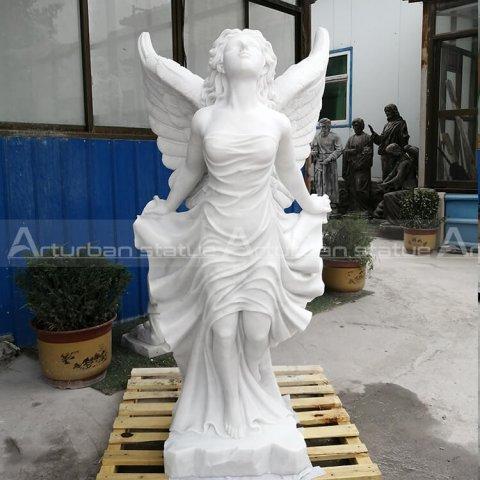 beautiful angel statues