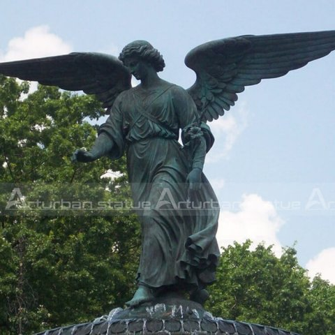 large angel statue