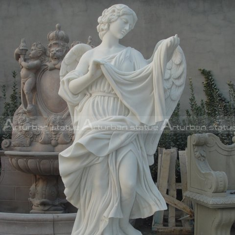 life size angel statue