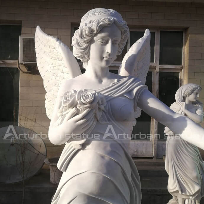 angel outdoor garden statue