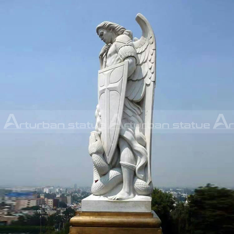 saint michael archangel statue