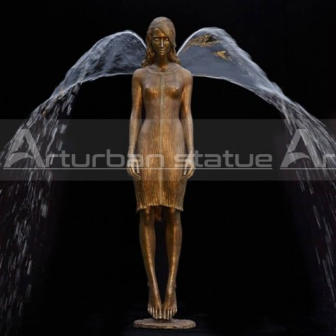 Bronze Angel Fountain