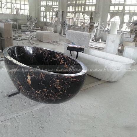 marble freestanding tub