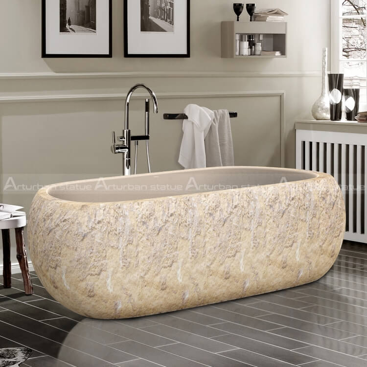 marble soaking tub
