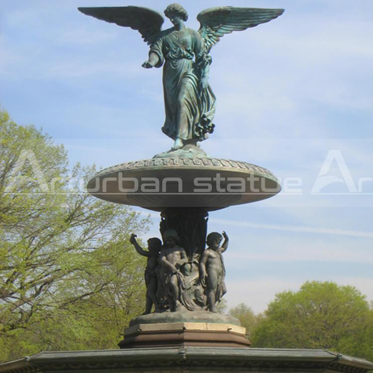 angel garden fountain