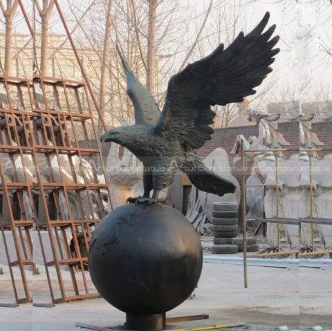 bronze eagle statues for sale