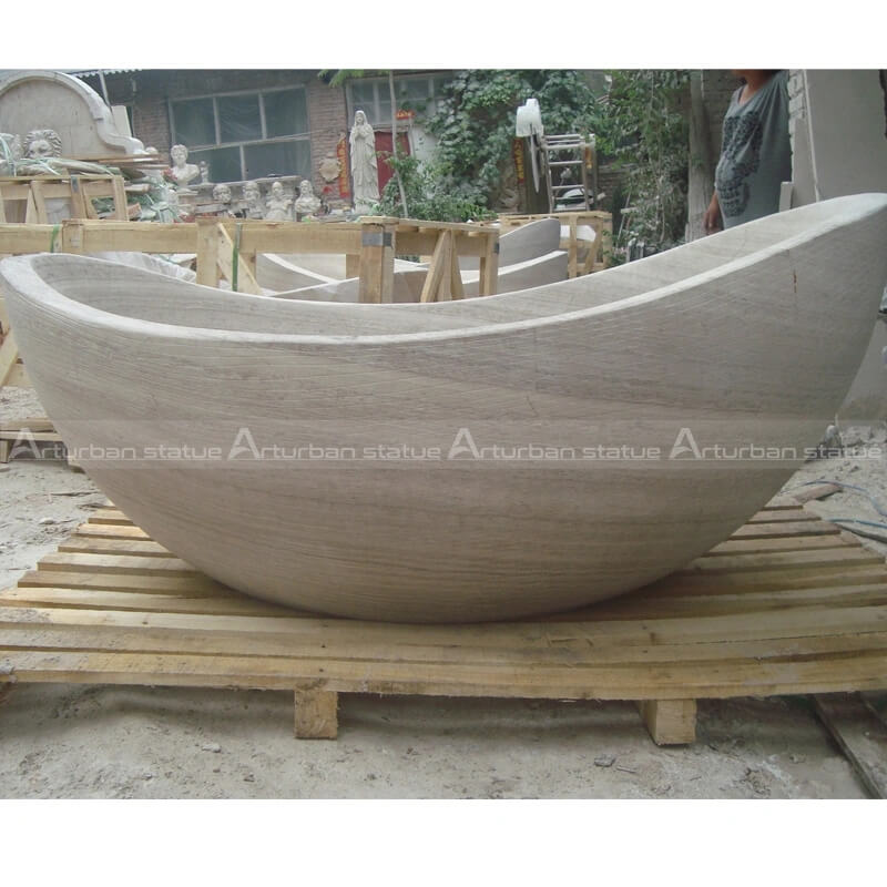 marble bathtub sculpture