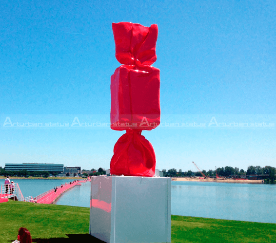 large candy sculpture