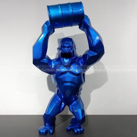 fiberglass gorilla statue