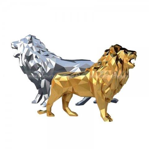 lion statue for living room