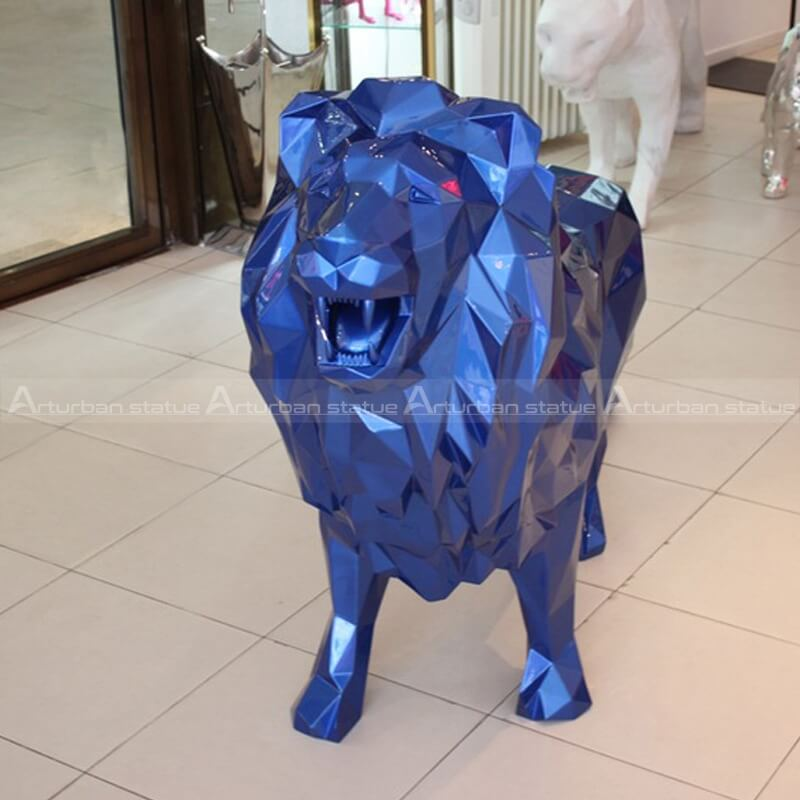 lion statue for living room