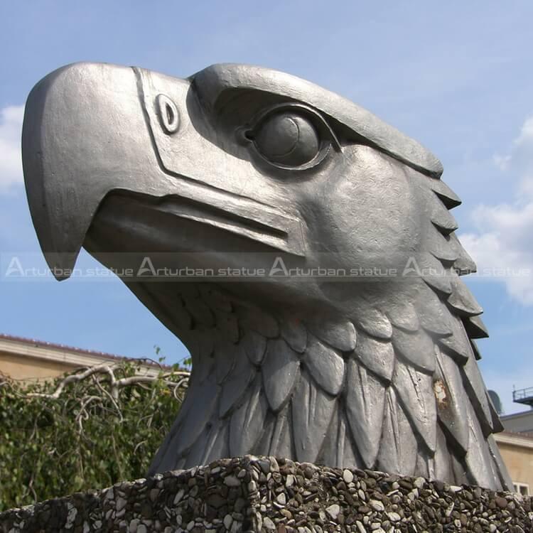 eagle head statue