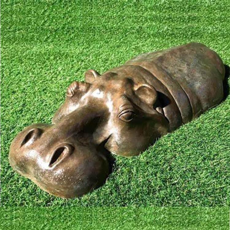 hippopotamus statue