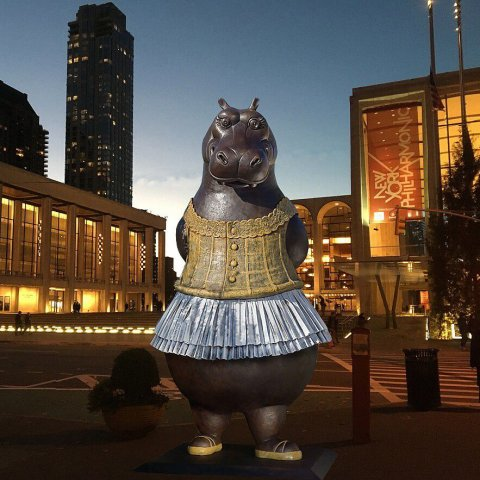 hippo statue for sale