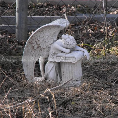 weeping angel sculpture