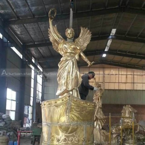 large outdoor angel statues